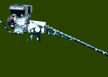 Подвесной лодочный мотор болотоход