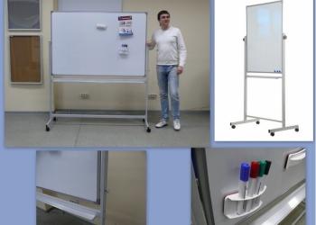 Напольные поворотные магнитно-маркерные доски с доставкой в Курганскую  обл.