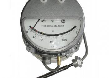 ТГП-160Сг термометр манометрический газовый показывающий сигнализирующий
