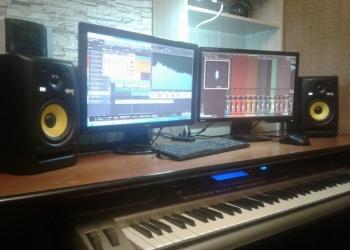 Студия звукозаписи.