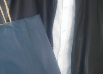 Фирменная куртка ZARA. Кожа