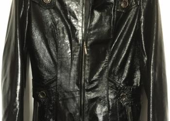 Куртка кожаная женская размер 44-46