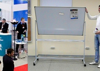 Напольные поворотные магнитно-маркерные доски с доставкой в Ставропольский край