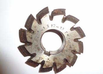 Фреза зуборезная m 4 №1 20 гр Z=12-13 ГФ 8,67 9ХС