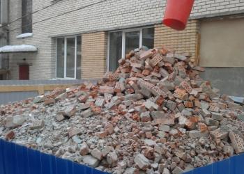 Приму твёрдый строительный мусор бесплатно