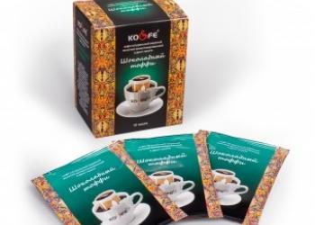 Свежеобжаренный кофе в зерне,молотый,в дрип-пакете,в фильтр пакете.