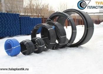 Трубы ПНД вода и газ от 20 до 630 диаметров