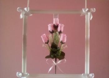 Картина панно розовые розы красивая авторская эксклюзивная современная