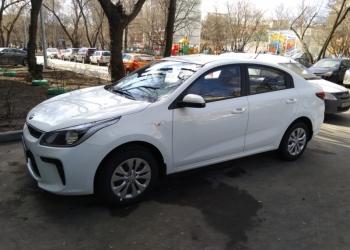 Аренда Kia Rio IV 2018 МКПП в Москве