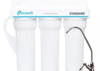 Фильтр для воды ECOSOFT Standart 3-ступенчатый под мойку