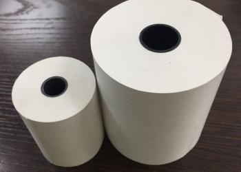 Чековая лента и этикеточная бумага термо