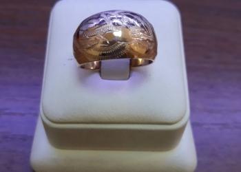 Золотое кольцо 583 пробы советского периода