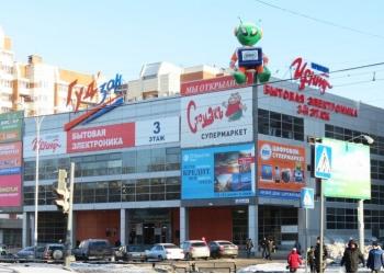Торговый центр в Екатеринбурге, 6466 м²