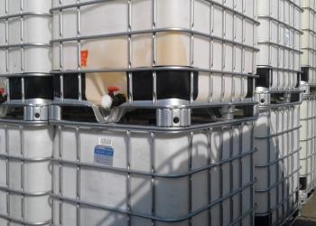 Еврокуб чистый (ёмкость кубическая 1000 л, контейнер IBC)