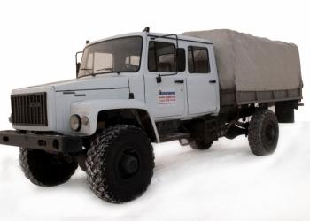 ГАЗ 33081 - 33088 Егерь, сдвоенная кабина