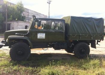 Автомобиль ГАЗ 33088 двухрядная кабина 5 мест
