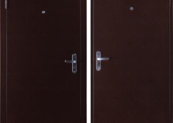 Дверь входная металличесая