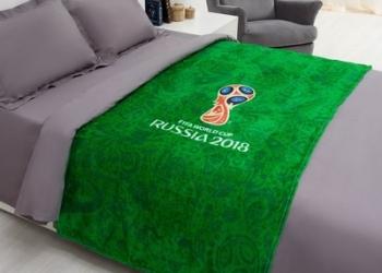 Плед с эмблемой чемпионата мира по футболу