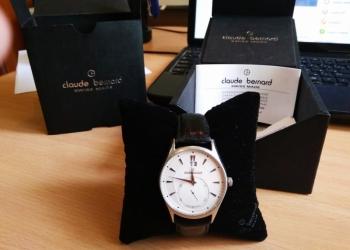 Швейцарские мужские наручные часы Claude Bernard