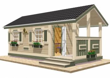 Уютный домик №5 от TEREMDOM