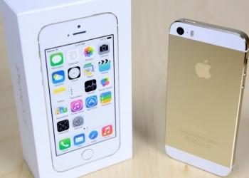 iPhone 5s Gold как новый