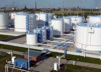 Нефтебаза в городе Воронеже