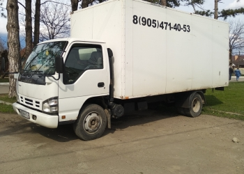 Грузовой изотермический фургон до 5 тонн