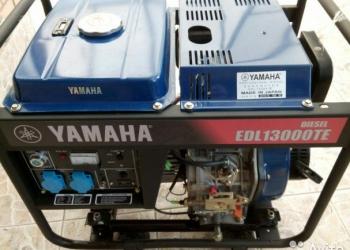 Генератор Yamaha EDL 13000 TE (новый)