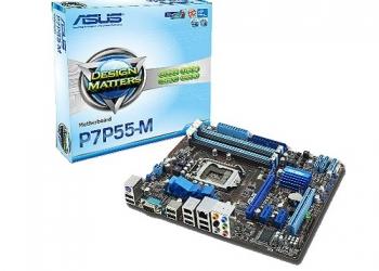 Продам материнскую плату ASUS-P7P55-M