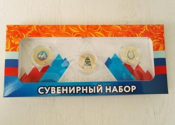 """Набор монет """"Нефтегазовый комплекс"""""""