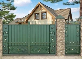 Ворота для дома под ключ