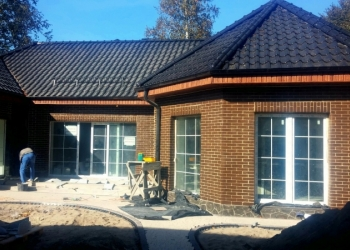 Печатный декоративный  бетон,отделка фасадов