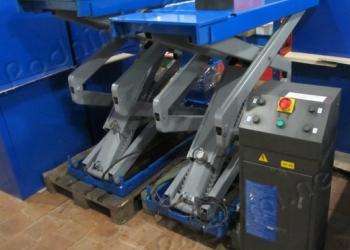 Подъемник ножничный электрогидравлический OMA 530B / Werther Stratos S36 3600 кг