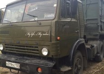 Продам КАМАЗ 5410 с полуприцепомОДАЗ9370-10м(зерновоз)Мах.разрешённая масса24000