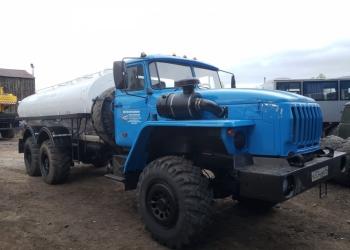 АЦПТ-10 Урал -4320 водовоз питьевая вода