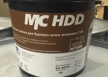 Смазка для буровых штанг ГНБ, MC HDD ведро 4,5кг