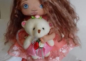 Авторская кукла Злата