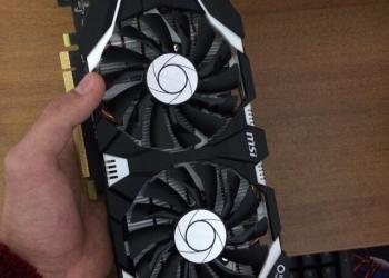 MSI GeForce GTX 1060 3GB OC
