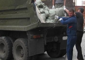 Вывоз мусора на автомобиле Камаз
