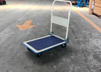 Малогабаритная платформенная тележка для склада