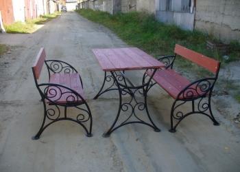 Кованая мебель, лавочки, скамейки