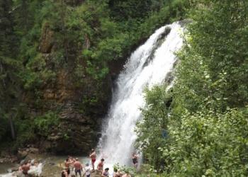 База отдыха пещёрский водопад.