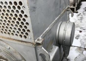 Дымосос с электродвигателем