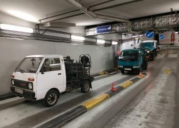 Откачка приямков, жироуловителей на подземных паркингах