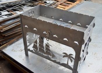 Лазерная резка, гибка, полимерка металла. Изготовление металлоконструкций.