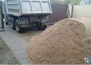 Песок,перегной,чернозем в Городце