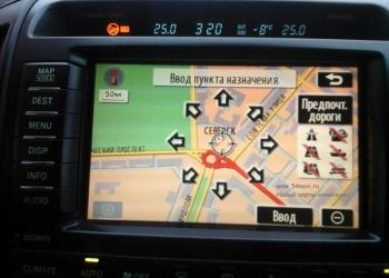 Обновление карт навигации Infiniti, Nissan, Toyota, Lexus. Русификация Адаптация