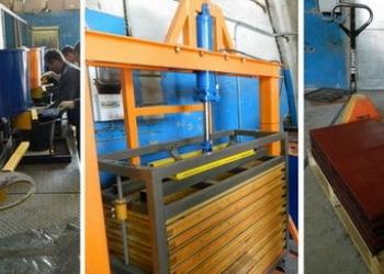 Оборудование для производства резиновой брусчатки