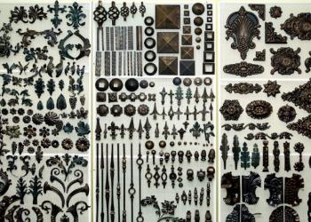 Пики кованые,шары,сферы,заглушки,листья виноградные,элементы для ковки,ручки