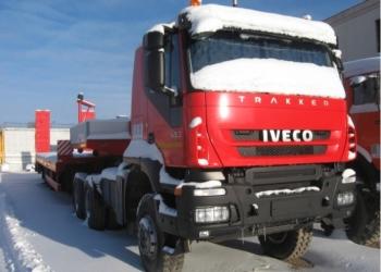 Седельный тягач ИВЕКО АМТ - 633910 трал ТСП-9416 2012